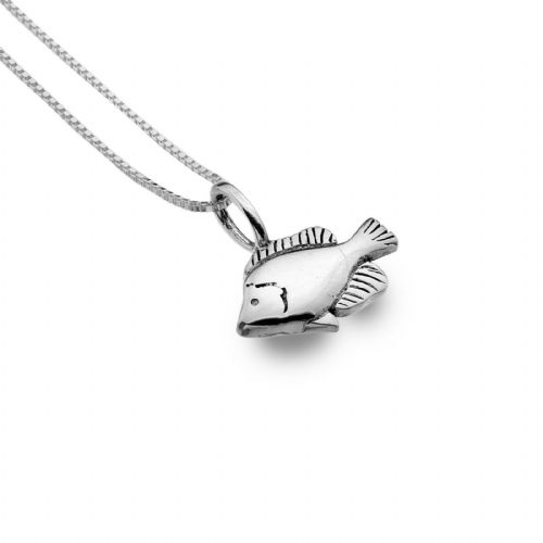 Fish Pendant Necklace Sterling Silver 925 Hallmark All Chain Lengths